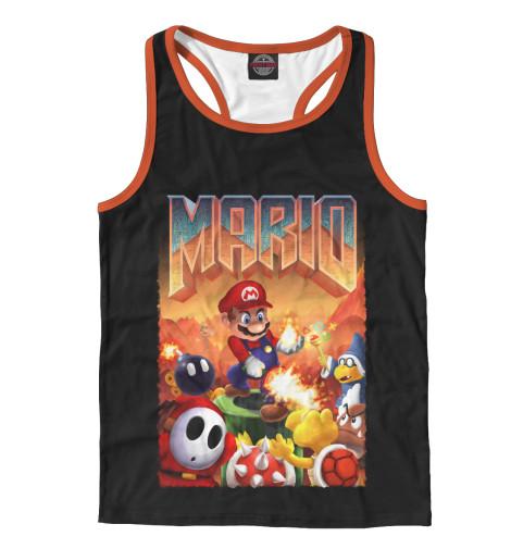 Майка борцовка Print Bar Mario Doom худи print bar mario doom
