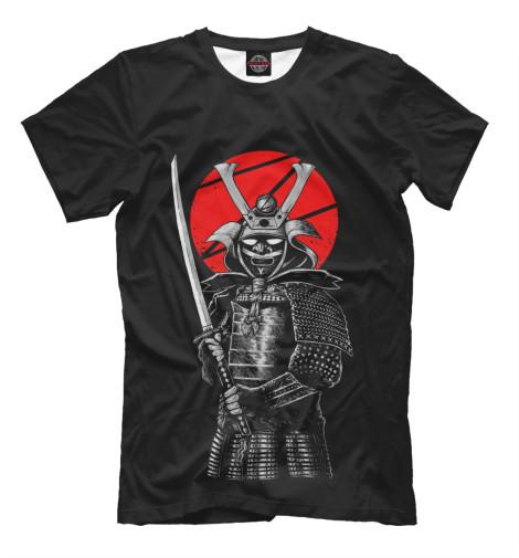Футболка Print Bar Самурай футболка print bar волк самурай