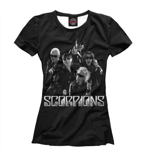 Футболка Print Bar Scorpions scorpions blackout cd dvd
