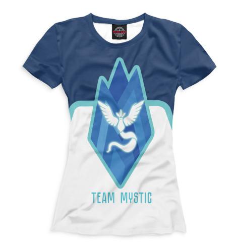 Купить Футболка для девочек Team Mystic PKM-128626-fut-1