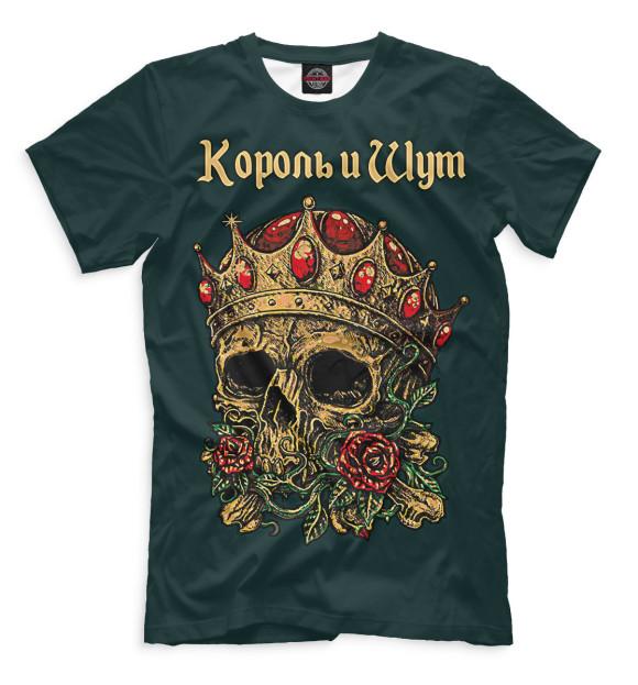 Купить Мужская футболка Череп с короной Король и Шут -Мужская Джимми Хендрикс
