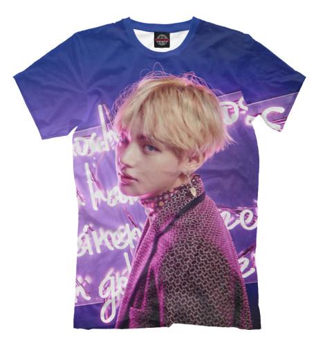 Купить Мужская футболка BTS V KPP-975479-fut-2
