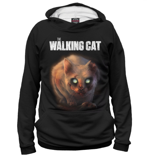 Худи Print Bar Walking Cat худи print bar the walking dead