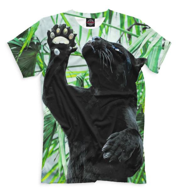 Купить Футболка для мальчиков Чёрная пантера HIS-434679-fut-2