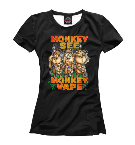 Футболка Print Bar monkey vape футболка print bar vape life
