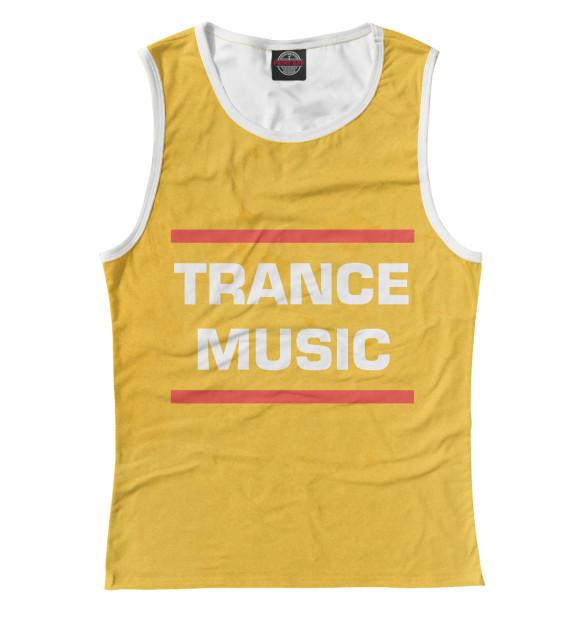 Купить Женская майка Trance music DJS-614478-may-1