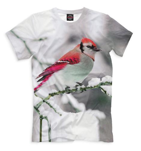 Мужская футболка Зяблик