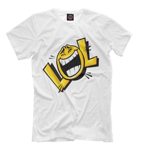 Футболка Print Bar LOL женская футболка lol slim fit t lol 3038241