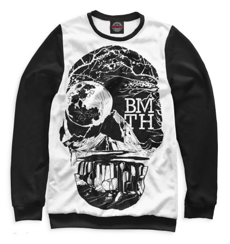 Мужской свитшот Bring Me The Horizon Print Bar BRI-591522-swi