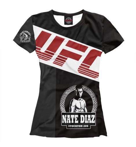 Футболка Print Bar UFC Нейт Диас ufc 2 ps4