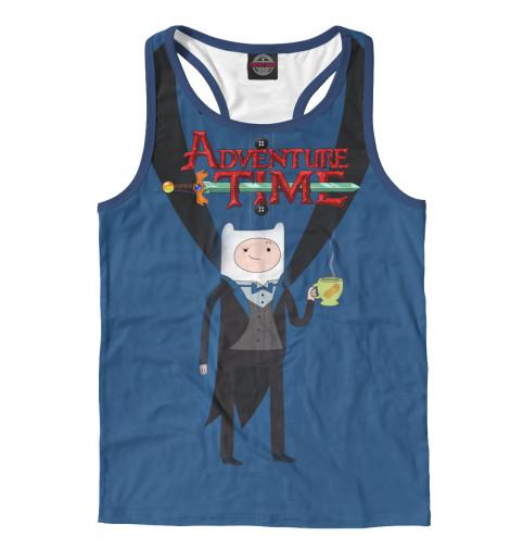 Майка борцовка Print Bar Фин Adventure Time