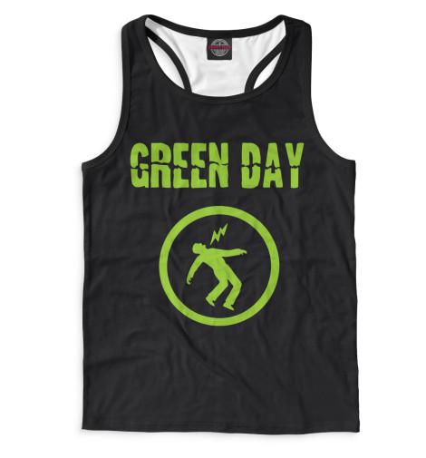 Мужская майка-борцовка Green Day