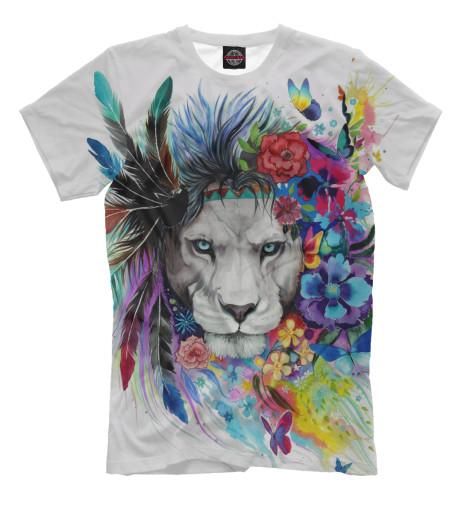 Футболка Print Bar Flower Lion футболка print bar flower tropic
