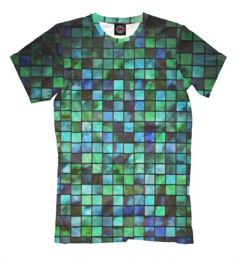 Фото - Мужская футболка Матрица от Print Bar белого цвета