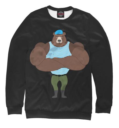 Свитшот Print Bar Медведь ВДВ свитшот print bar медведь вдв