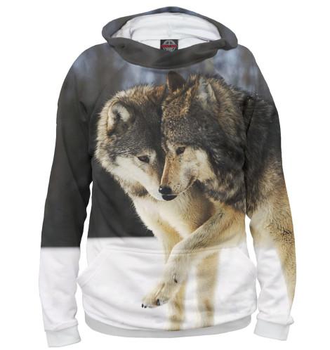 Купить Женское худи Волки VLF-841272-hud-1