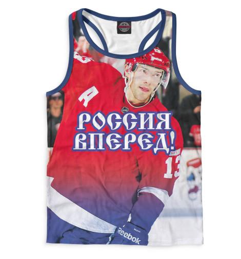 Мужская майка-борцовка Дацюк - Россия вперед! Print Bar HOK-847713-mayb-2