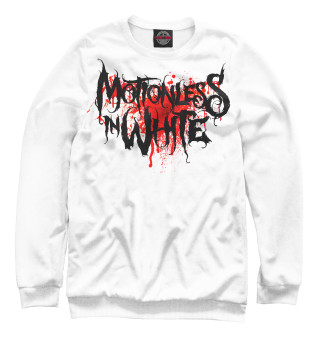 Мужской свитшот Motionless In White Blood Logo