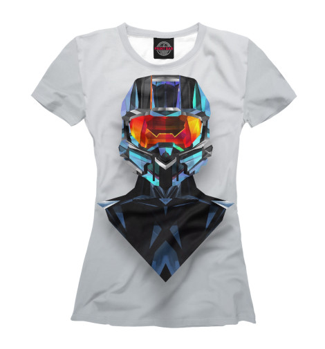 Футболка Print Bar Master Chief chief lcm1ub