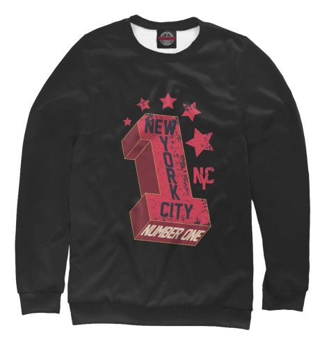 Свитшот Print Bar New York City Number 1 ветровка zoo york sketchy city navy 1099473