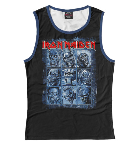Майка Print Bar Iron Maiden Band cd iron maiden a matter of life and death