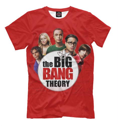 Футболка Print Bar The Big Bang Theory лонгслив printio the big bang theory sheldon cooper