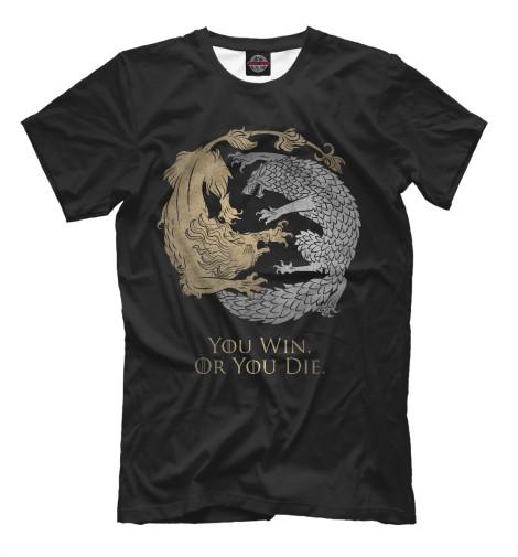 Мужская футболка Игра Престолов IGR-676004-fut-2  - купить со скидкой
