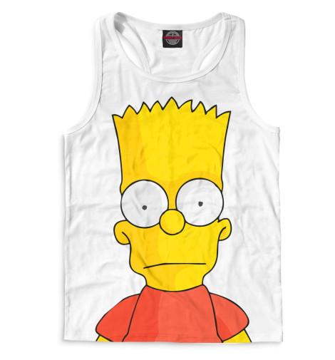 Мужская майка-борцовка Барт