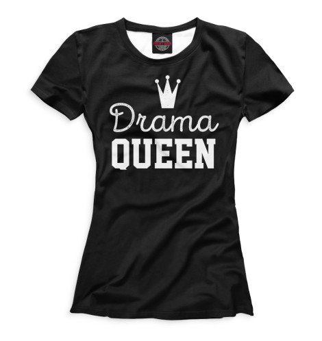Футболка Print Bar Drama Queen мышь smartbuy one 214 black sbm 214 k