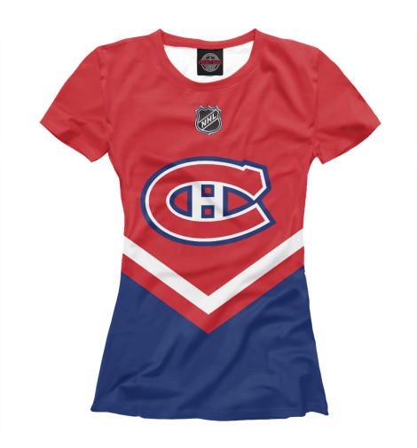 Футболка Print Bar Montreal Canadiens футболка wearcraft premium printio montreal canadiens