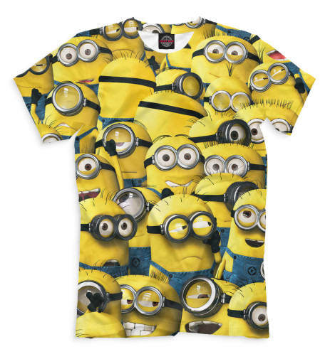 Мужская футболка Миньоны