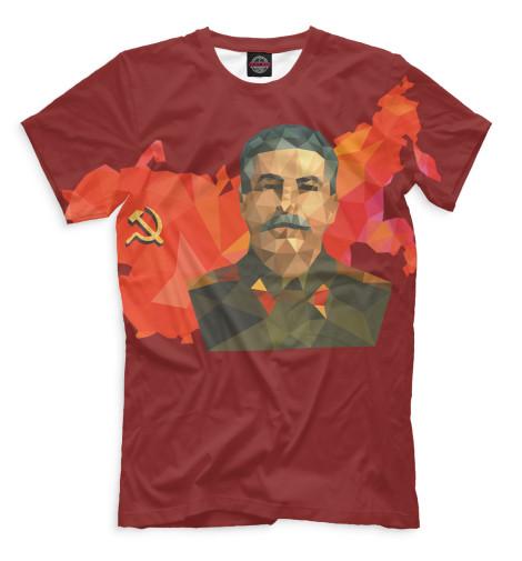 Мужская футболка Сталин