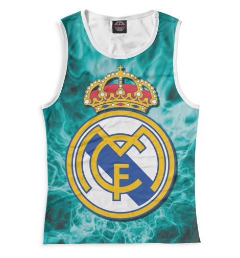 Женская майка Герб Real Madrid