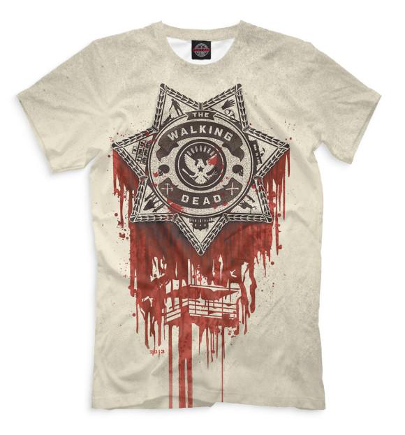 Купить Мужская футболка Ходячие мертвецы HOD-978453-fut-2