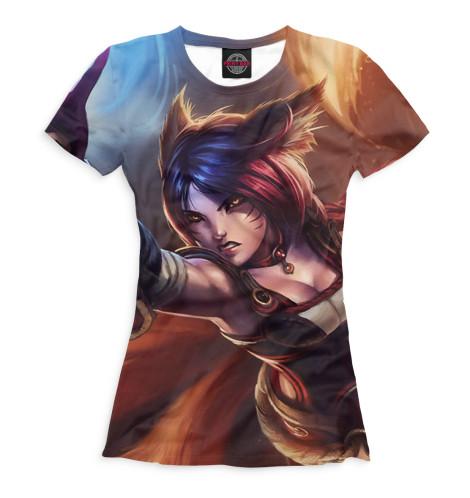Женская футболка Foxfire Ahri