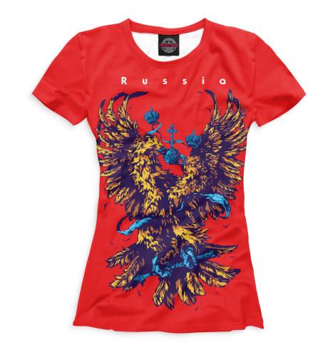 Женская футболка Двуглавый орел
