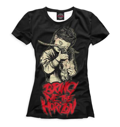 Женская футболка Bring Me the Horizon