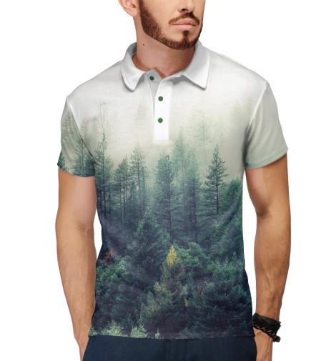 Купить Мужское поло Сибирский лес PEY-677048-pol-2