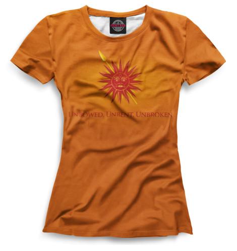 Женская футболка Символ Мартеллов