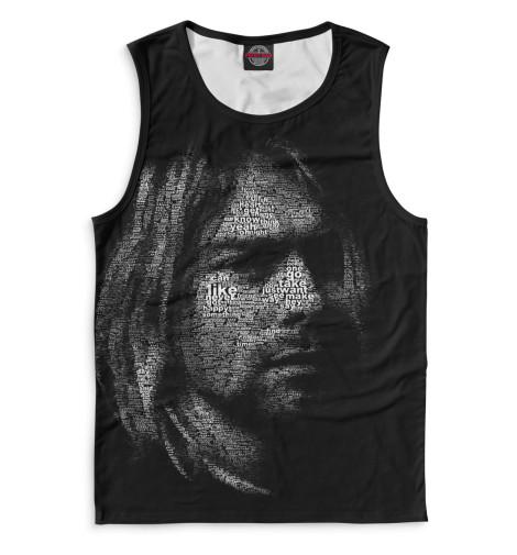 Мужская майка Kurt Cobain