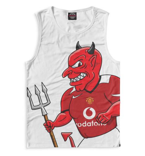 Мужская майка Manchester United Красный дьявол