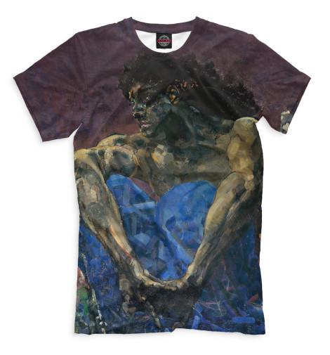 Мужская футболка Демон