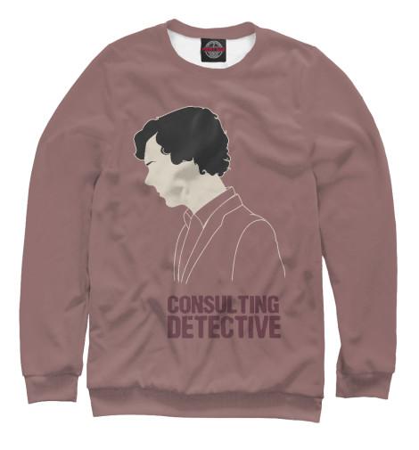 Свитшот Print Bar Consulting Detective detective cross
