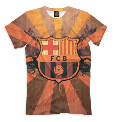Мужская футболка FCB герб
