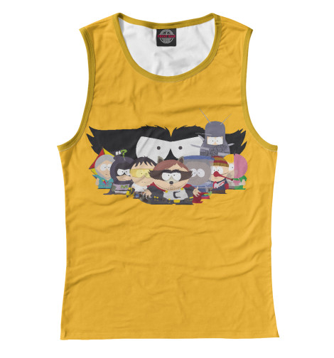 Майка Print Bar Супергерои South Park cute south park mini display figure toys 5 piece pack