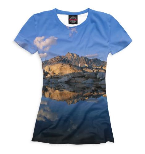 Женская футболка Горы
