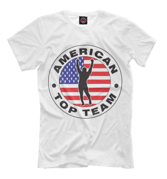 Купить Футболка для мальчиков American Top Team MNU-730226-fut-2