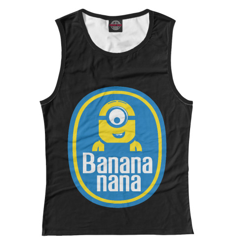 Майка Print Bar Banana Nana поло print bar damask banana