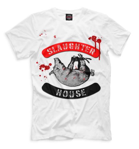 Мужская футболка Slaughterhouse