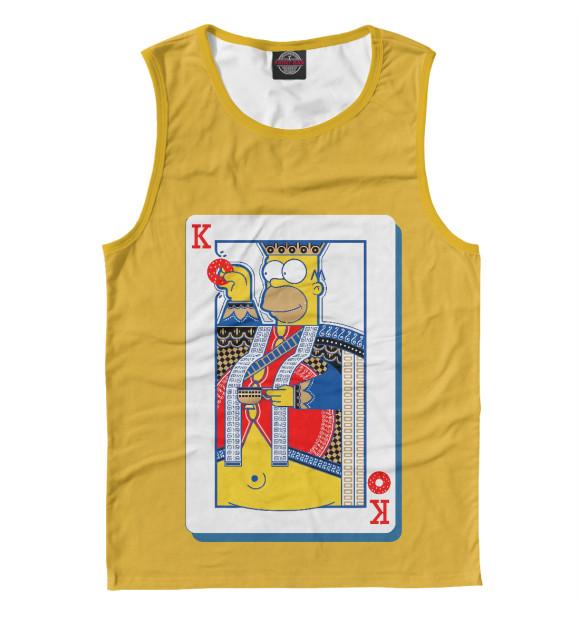 Купить Мужская майка King Homer SIM-122764-may-2